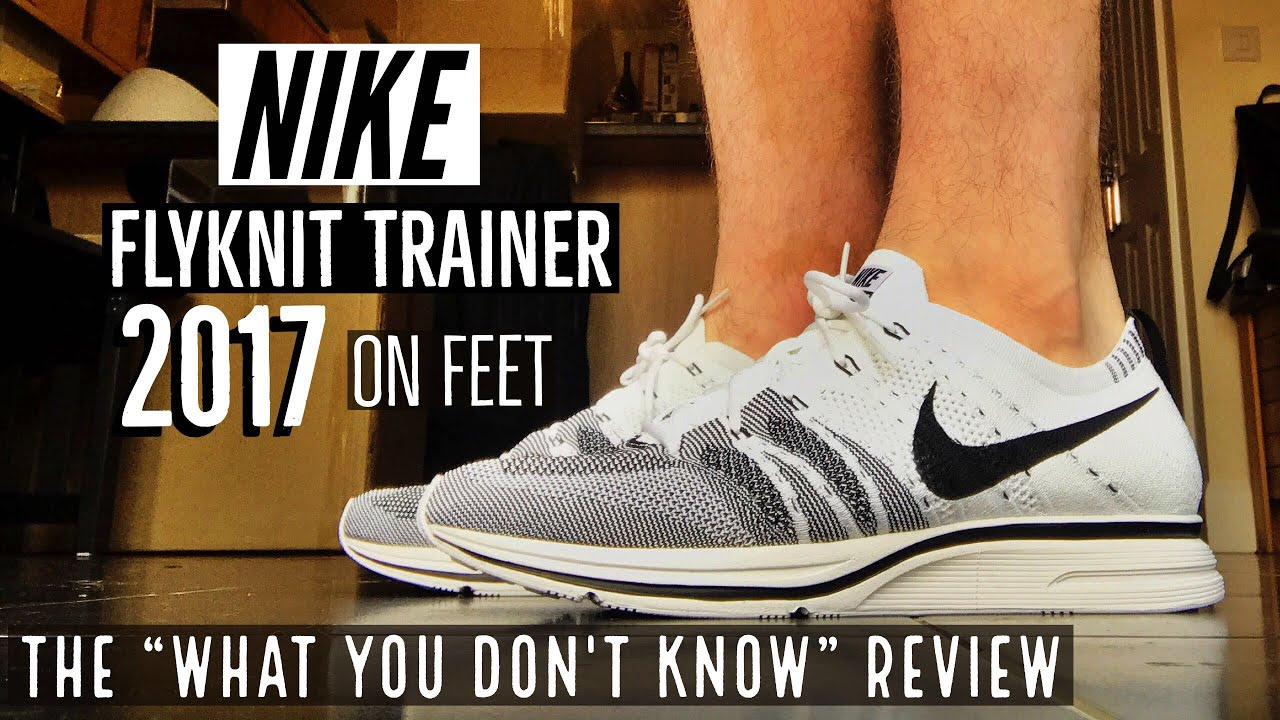 new product 51ba3 a43e6 NIKE FLYKNIT TRAINER 2017 REVIEW  ON FEET  What you dont know!  TKV  44 1.0