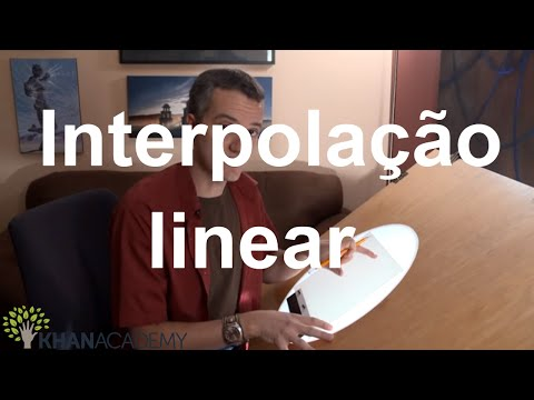 Interpolação linear | Pixar in a Box | Khan Academy