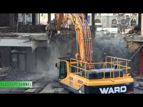 Update #1 Demolition of the Downtown Shopping Centre in Auckland City