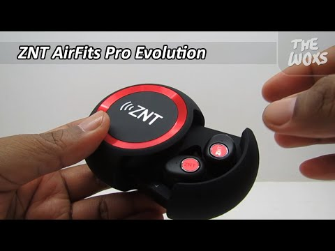 Unboxing ZNT AirFits Pro Evolution True Wireless Bluetooth Earphone - Bahasa Indonesia