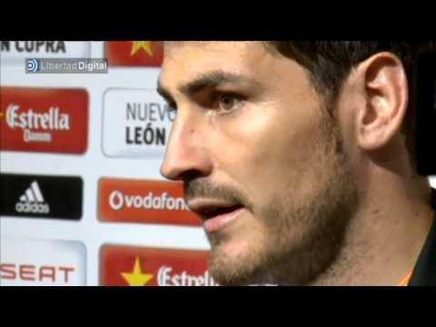 """Casillas: """"Es un gran gol de pundonor y coraje"""""""
