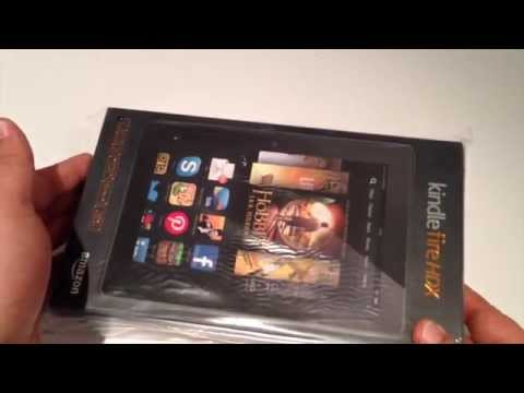 Amazon Kindle Fire HDX 7' Review - Tablet Test