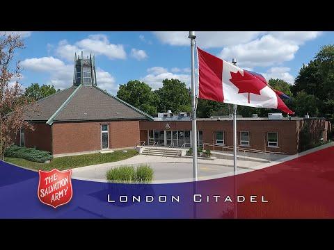 Salvation Army London Citadel: June 23, 2019 Sunday Service - YouTube