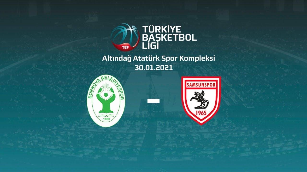 Bornova Belediyespor – Samsunspor TBL 16.Hafta