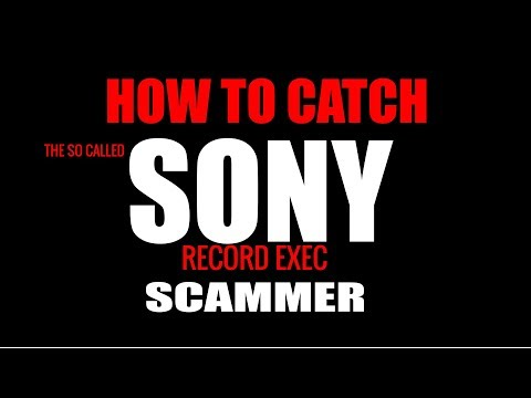 MUSIC SCAM REVEALED -FAKE SONY DEAL
