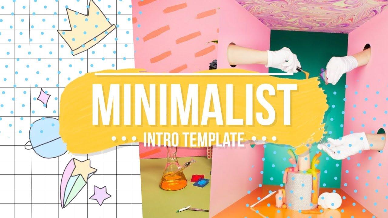 Minimalist Intro Template No Text