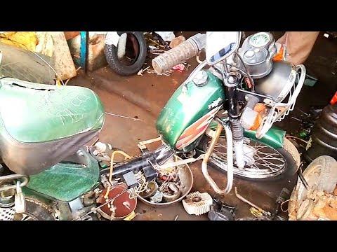 Tvs XL Heavy Duty Dismantling in தமிழ் / Rockfort Motor Works