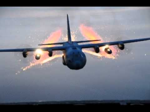New York Air National Guard Lights Up The Sky