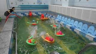 Обучение плаванию на спине детей 5 лет в ДОУ