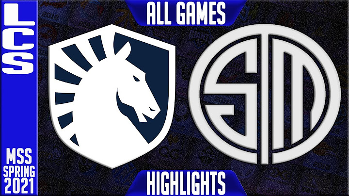 tl vs tsm highlights all games  lcs mss spring 2021 playoffs semifinals  team liquid vs team solom