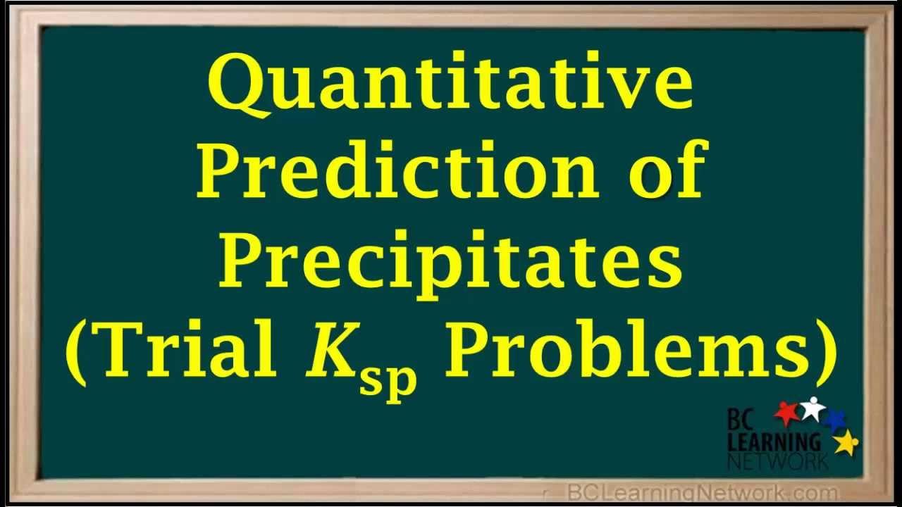 How to make a quantitative prediction?