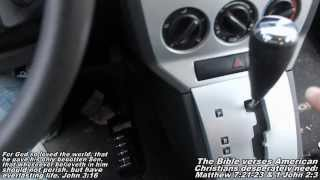 Not Shifting Shifter Problem 'How to' Dodge Caliber