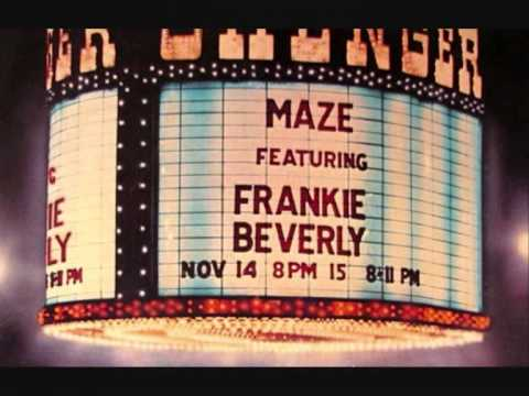 "MAZE feat. FRANKIE BEVERLY. ""Joy and Pain"". 1981. original live 12"" mix."