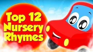 12 Лучших Детских Стишков   Коллекция Детских Песен   Top 12 Nursery Rhymes   Preschool Rhymes