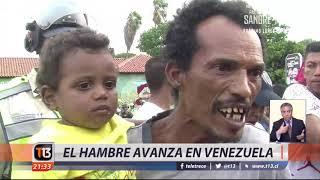 El hambre avanza en Venezuela