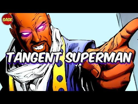 "Who is DC Comics ""Tangent SuperMan?"" Harvey Dent: Most Powerful Man on Earth-9"