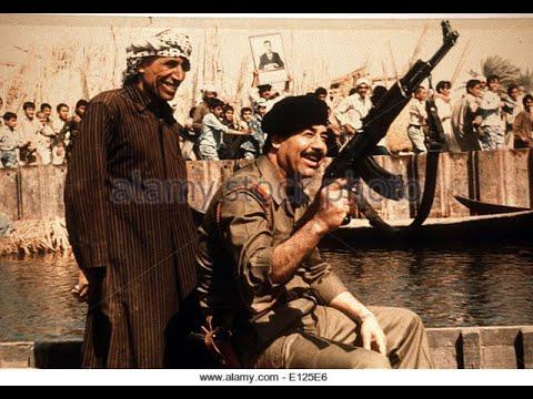 Saddam Hussein Iraqi Army Parade  صدام العرب