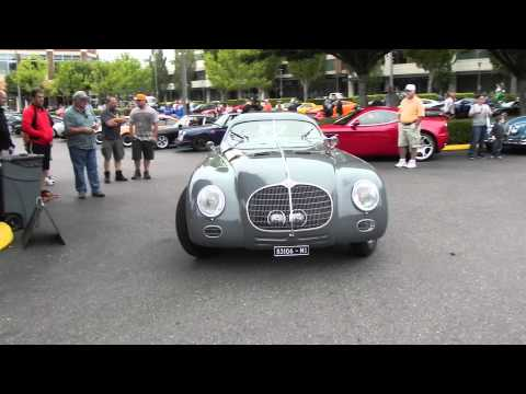 1942 ALFA ROMEO 6C 2500 SS Berlinetta Aerodyne with a supercharged engine