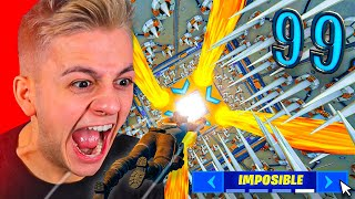 LA CARRERA 99% IMPOSIBLE DE 100 NIVELES [Fortnite]