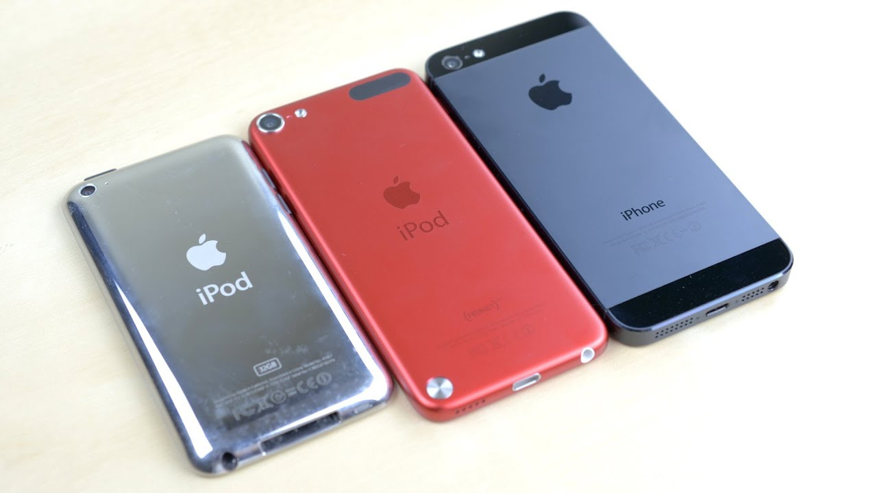 iPod touch 5th Generation vs iPhone 5 vs iPod touch 4G ...