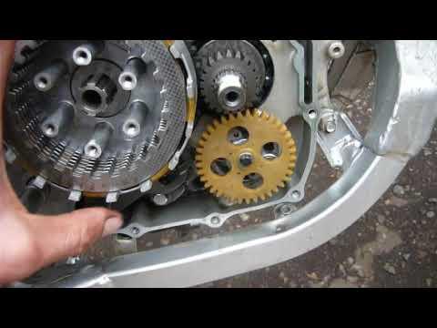 ZS 165 FMM / Люфт корзины сцепления на стопорном кольце. Это норма?