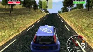 Colin mcrae rally 04: all maps - spain stage 2 [esp 02] (hd)
