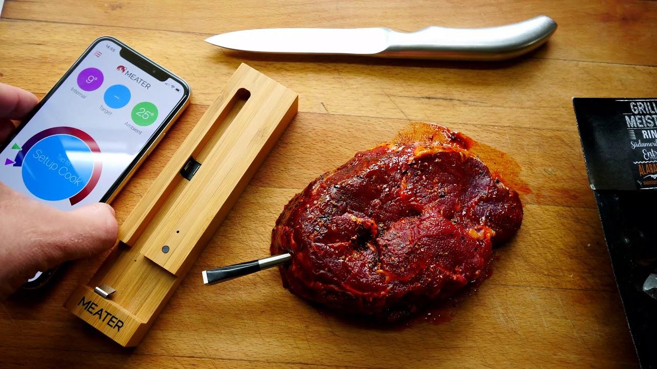 Perfekte Steak, Fisch oder andere Ofengerich mit smarten ...