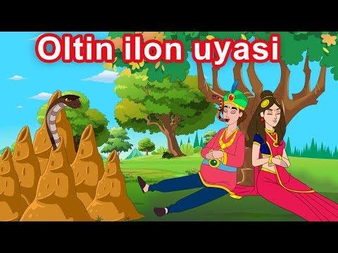 Oltin ilon uyasi | multfilm | O'zbek multfilmlari | O'zbek ertaklari | Uzbek Axloqiy Hikoyalari