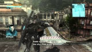Metal Gear Rising: Revengeance - PC - walkthrough - gameplay - Max setting - ultra setting - HD