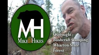 Overnight Bushcraft Camping, Wharton State Forest