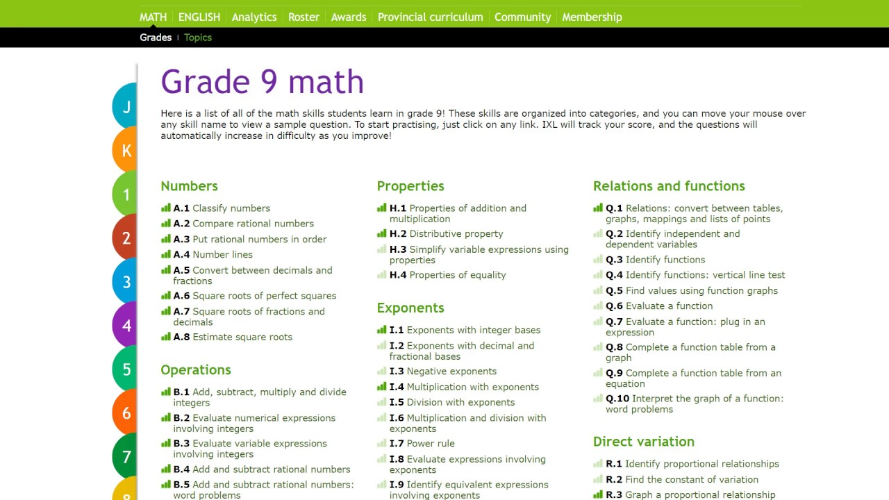 3 4 Product and quotient math ixl practice - YouTube