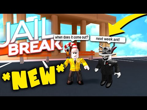 NEW JAILBREAK MUSEUM RELEASE DATE *CONFIRMED*