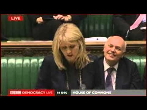 The Complaining Cow and Iain Duncan Smith discuss Food Banks