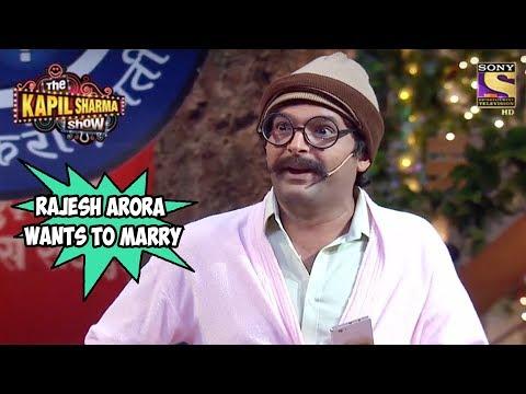 Rajesh Arora Wants To Marry His Customer – The Kapil Sharma Show
