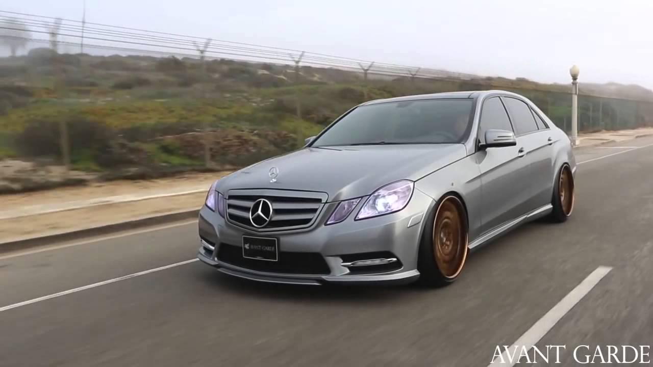 2012 Mercedes E350 On 20 Avant Garde F440 Ag Wheels Youtube