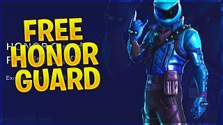 How to get the NEW HONOR GUARD SKIN FREE in Fortnite..
