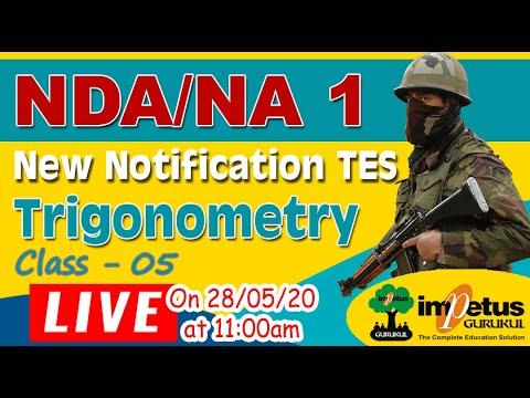 TES New Notification | NDA/NA  | Trigonometry Class - 5 | Concept Building Class