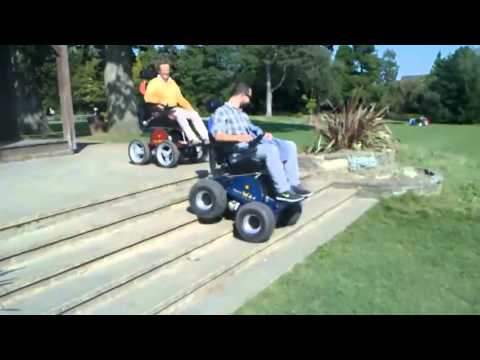 Electric Wheelchair - demo 2