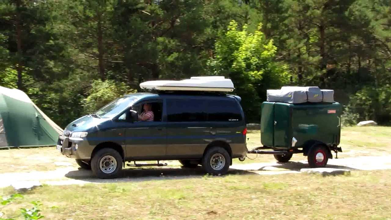 Starex 4x4 Offroad Trailer With Gordigear Roof Tent