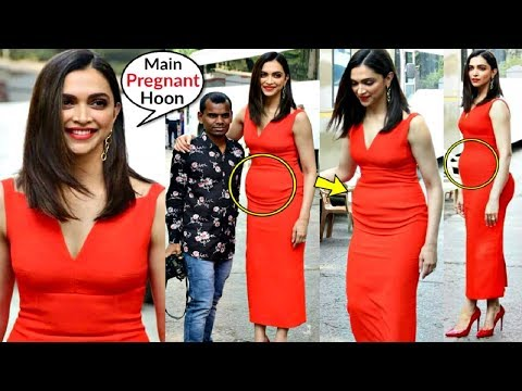 Deepika Padukone PR€GNANT Baby-Bump Clearly Visible During Chapak Promotion