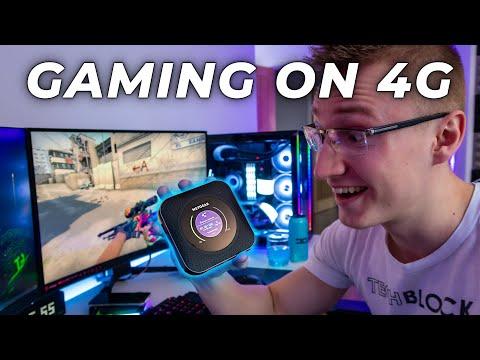 Gaming on SUPER FAST 4G LTE - Nighthawk M1