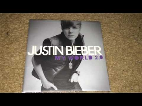 Unboxing Justin Bieber - My World 2.0