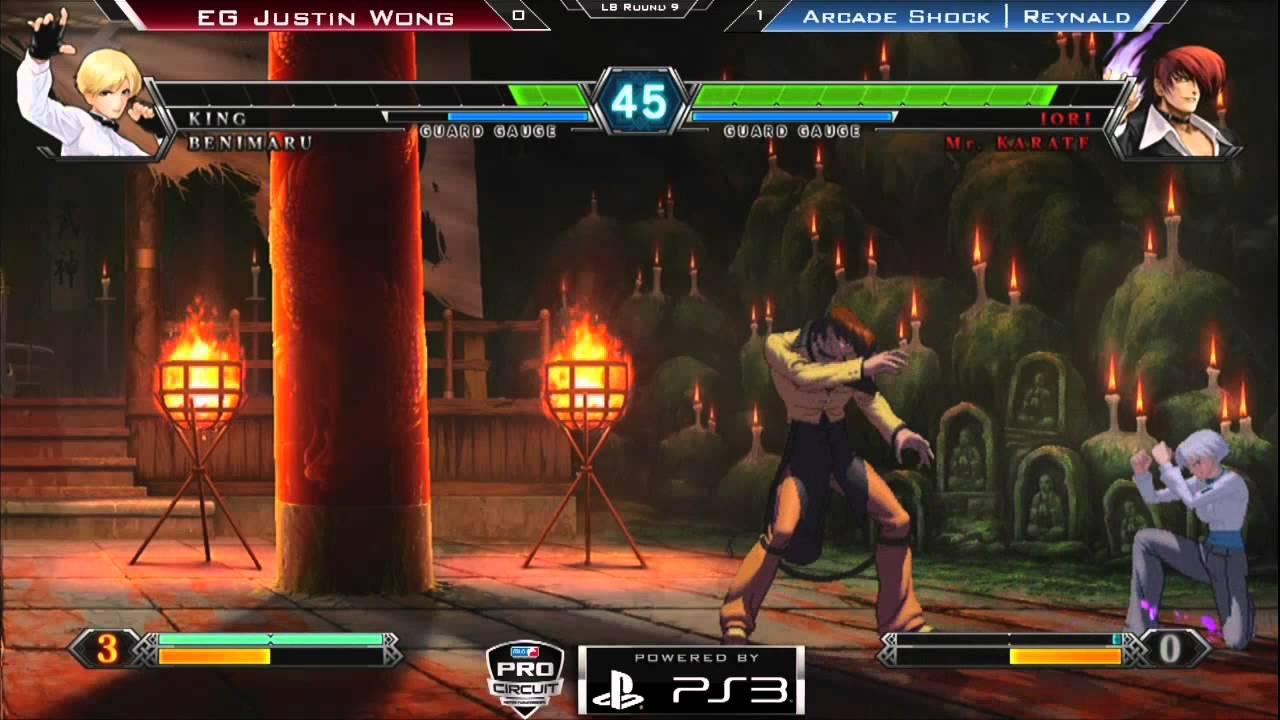 WR 5 A - EG Justin Wong vs Arcade Shock - Game 2