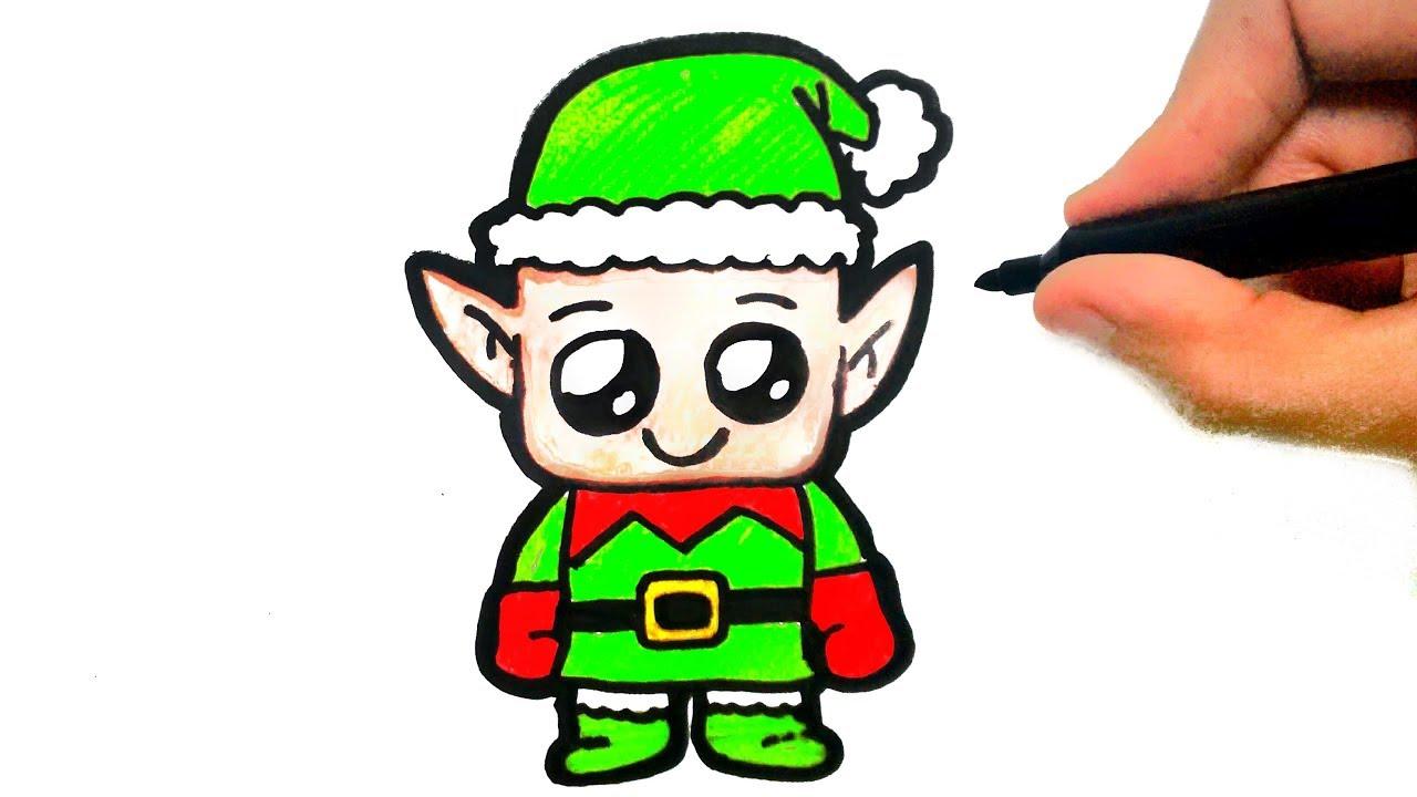 Como Desenhar Doende De Papai Noel Natal Youtube