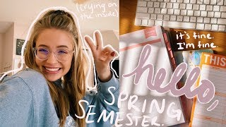 prep with me for a CRAZY college semester. a vlog.