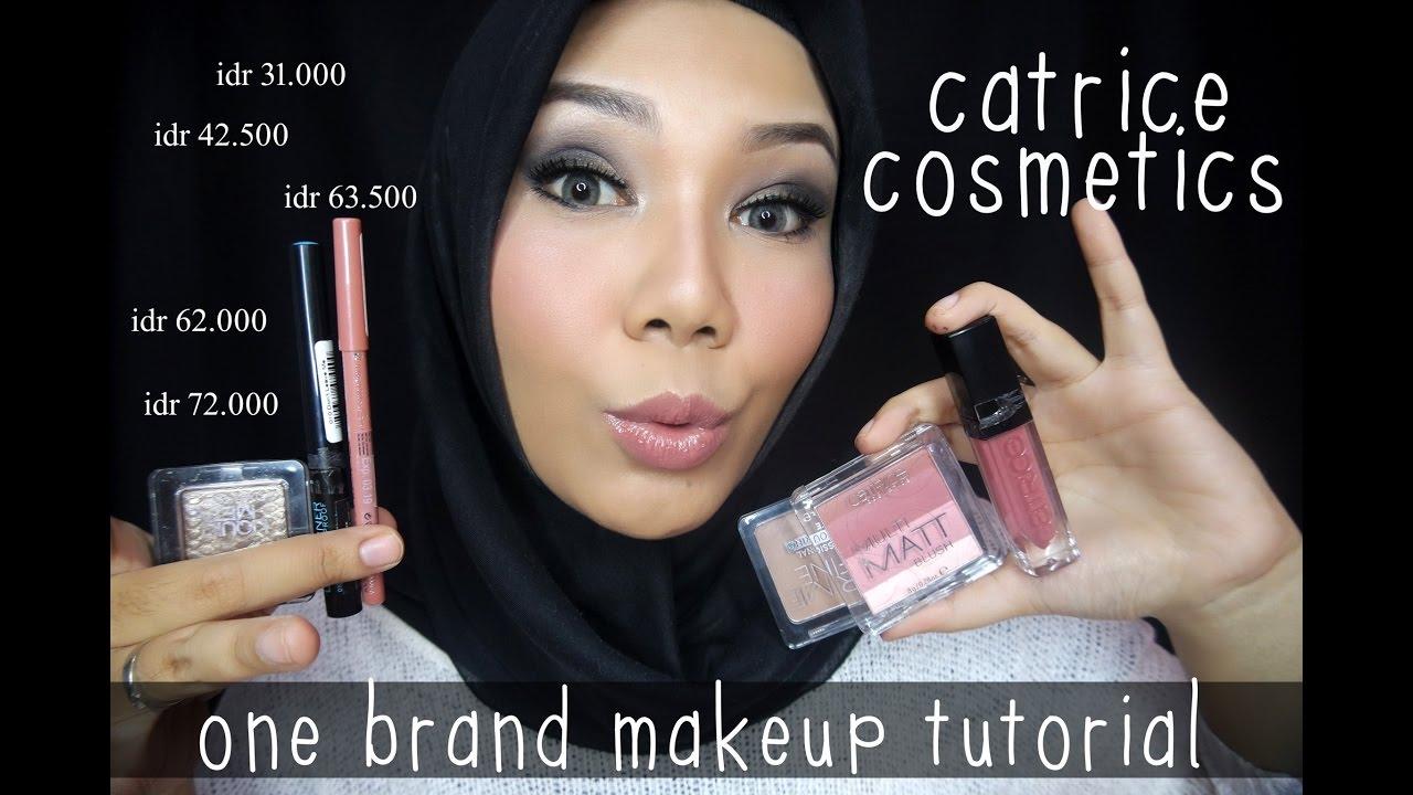 One brand makeup tutorial catrice | makeup pesta / glam / prom.