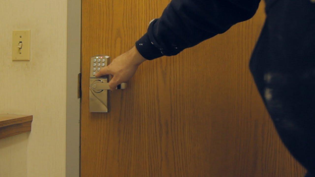 eBay Keypad Door Lock for $59.99 Install u0026 Review & eBay Keypad Door Lock for $59.99 Install u0026 Review - YouTube
