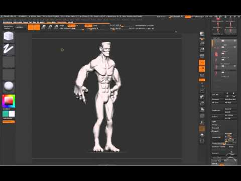 ZBrush Sculpt Character Design By Instructor Gil Marquez