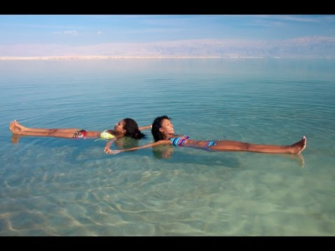 The Dead Sea, Israel - This is not another sea.  it's something completely different.