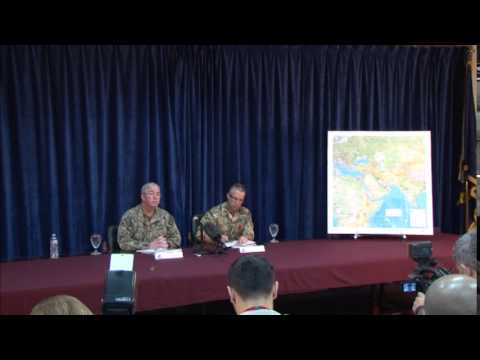 IMCMEX Press Conference (Vice Adm. John W. Miller and Commodore Keith Blount)